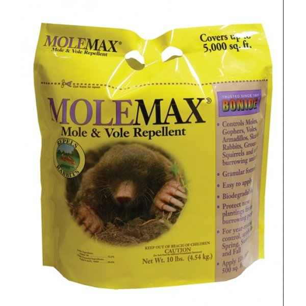 Molemax Mole and Vole Repellent / Size (10 lbs.) Best Price