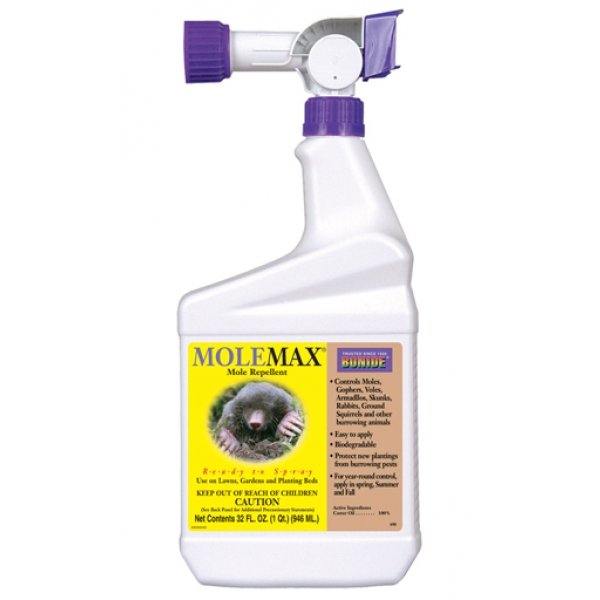 MoleMax Mole and Vole Repellent RTS - 1 qt Best Price