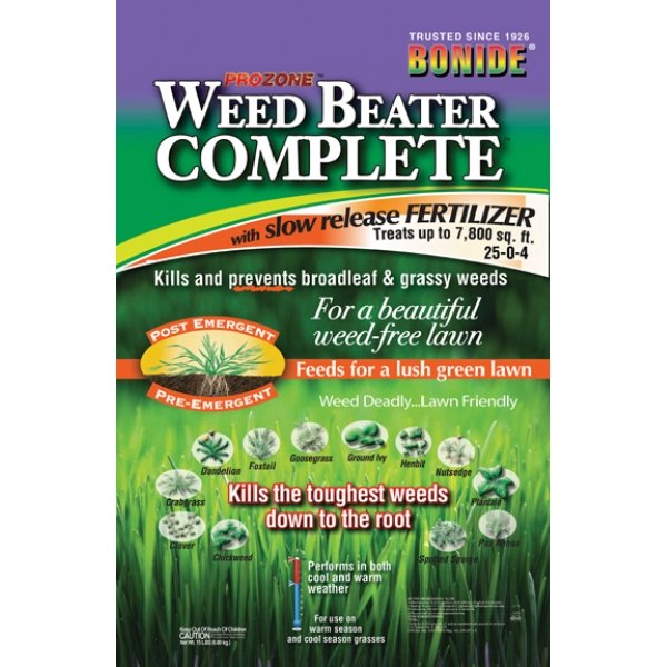 Weedbeater Complete with Fertilizer 15 lbs Best Price