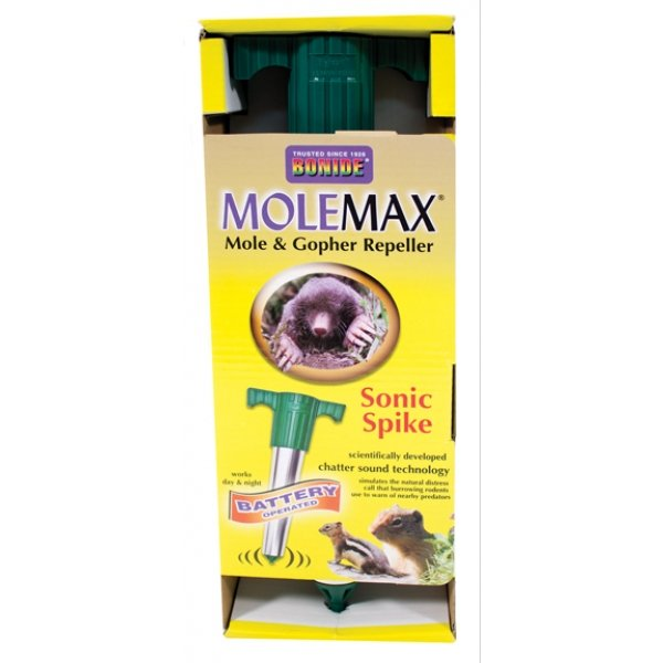 Molemax Battery Operated Sonic Spike Best Price