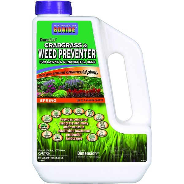 Duraturf Crabgrass and Weed Preventer With Dimension - 4 lbs Best Price