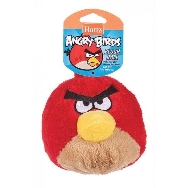 Angry Bird Latex Dog Toy