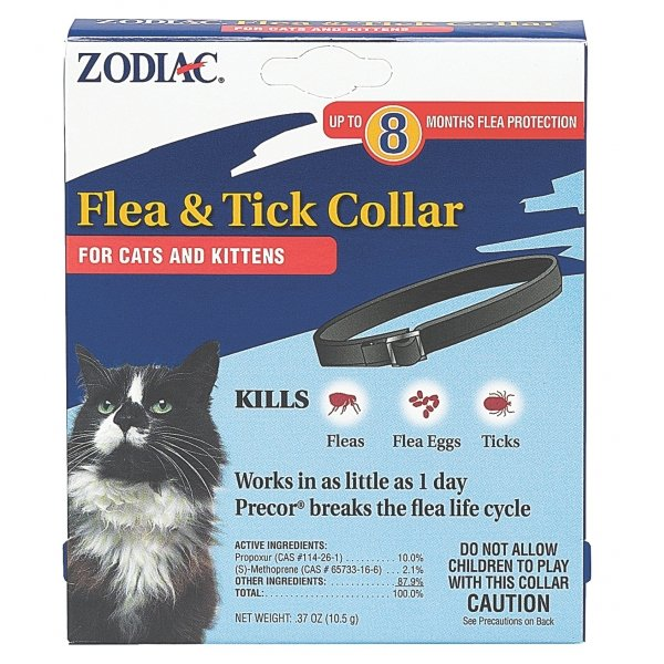 Zodiac Flea Tick Collar For Cats
