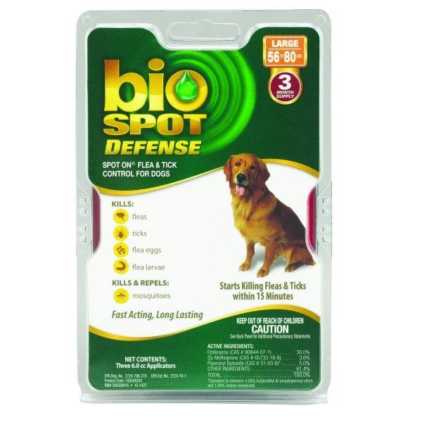 Bio Spot Defense Flea and Tick / Size (Large / 3 pack) Best Price