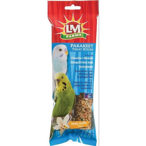 LM Farms Treat Sticks for Parakeets - 4 pk. Best Price