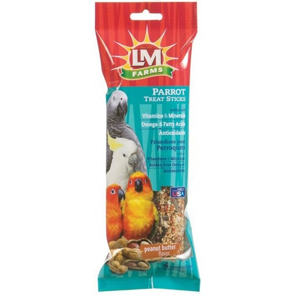 LM Farms Treat Sticks for Parrots - 4 pk. Best Price