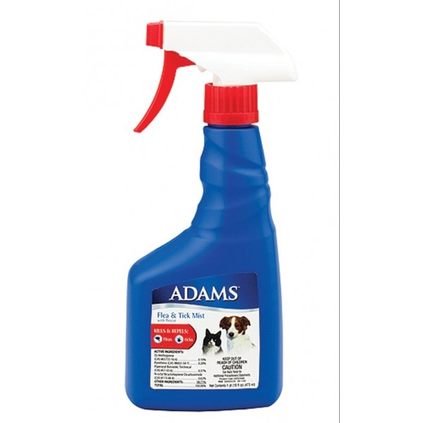 Adams Flea and Tick Mist With Precor For Pets - 16 oz. Best Price