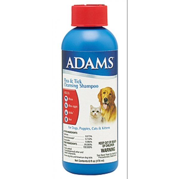 Adams Flea and Tick Cleansing Shampoo - 6 oz. Best Price