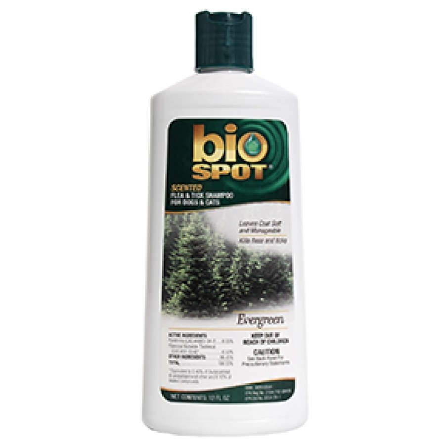 Bio Spot Flea and Tick Shampoo For Dogs - 12 oz. / Type (Evergreen) Best Price