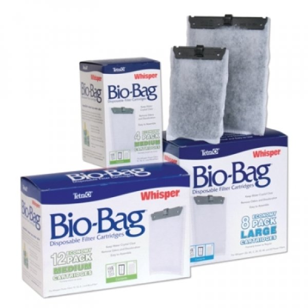 Whisper Bio Bag Cartridges / / Large/12pk./rta