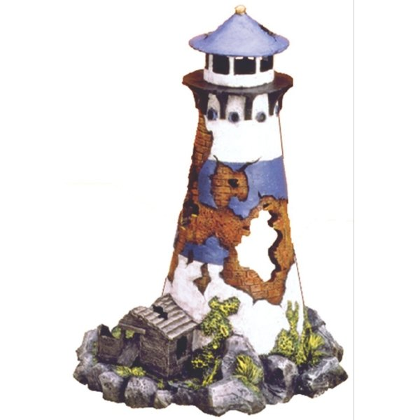 Lighthouse Ruin Aquarium Ornament Best Price