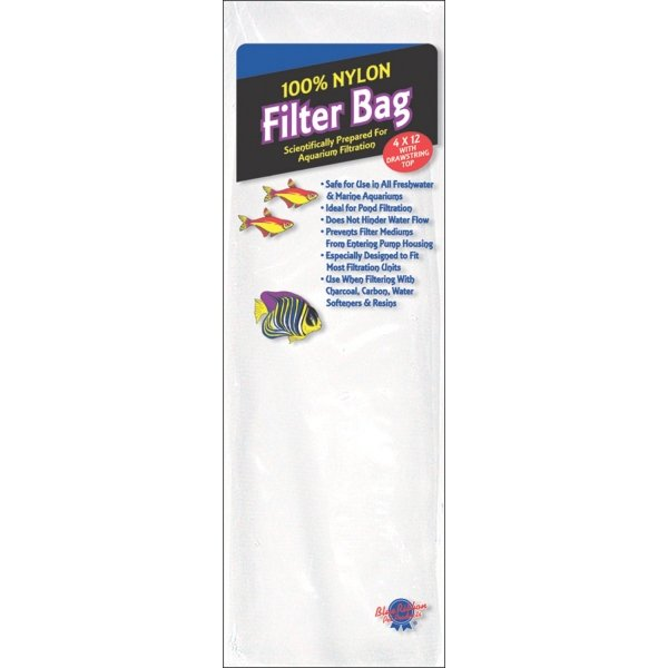 Nylon Filter Bag for Aquariums / Size (Large) Best Price