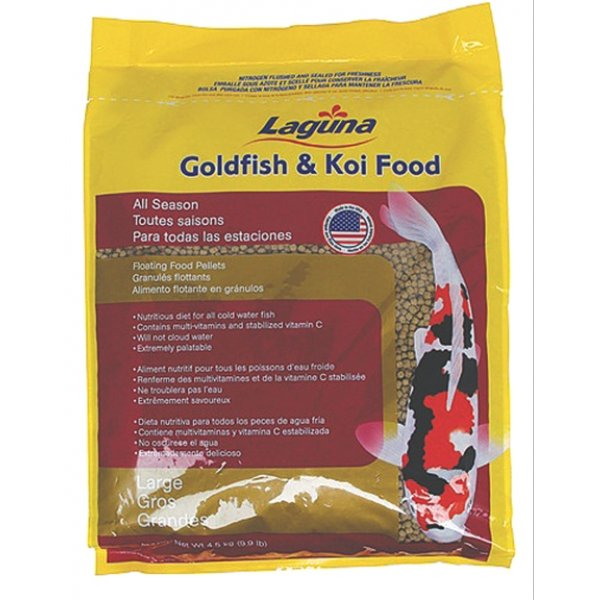 Goldfish and Koi Food Floating Pellets - All Season - 9.9 lbs. Best Price