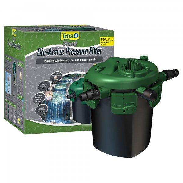 Tetra Bio Pressure Filter W/uv Clarifier / Size Bp1500 W/ 9w Uv