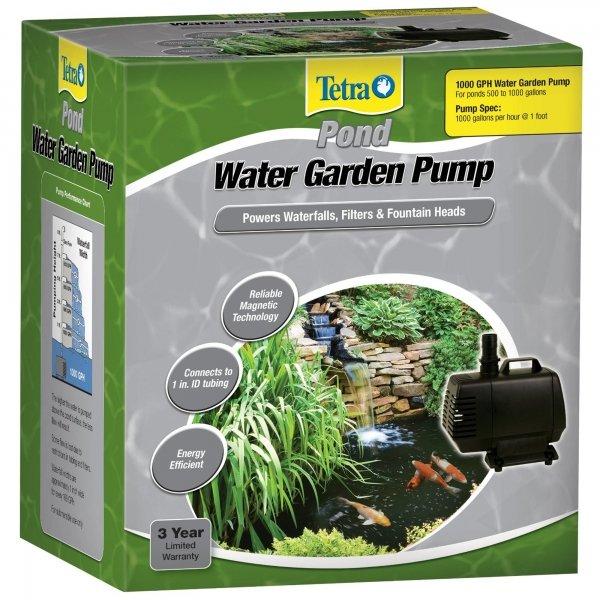 Water Garden Pump / Size 1000 Gph