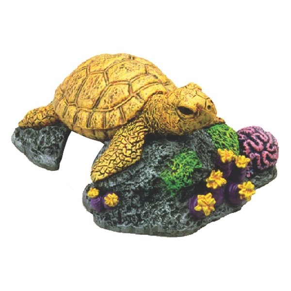 Sea Turtle Aquarium Decoration Best Price