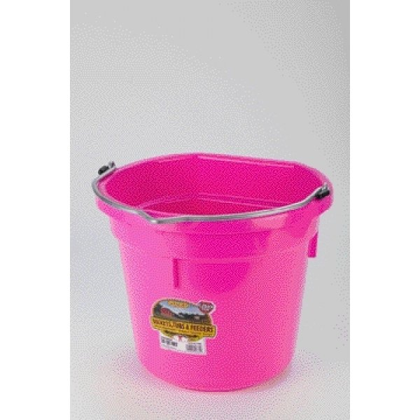 20 Quart Flatback Bucket / Color (Pink) Best Price