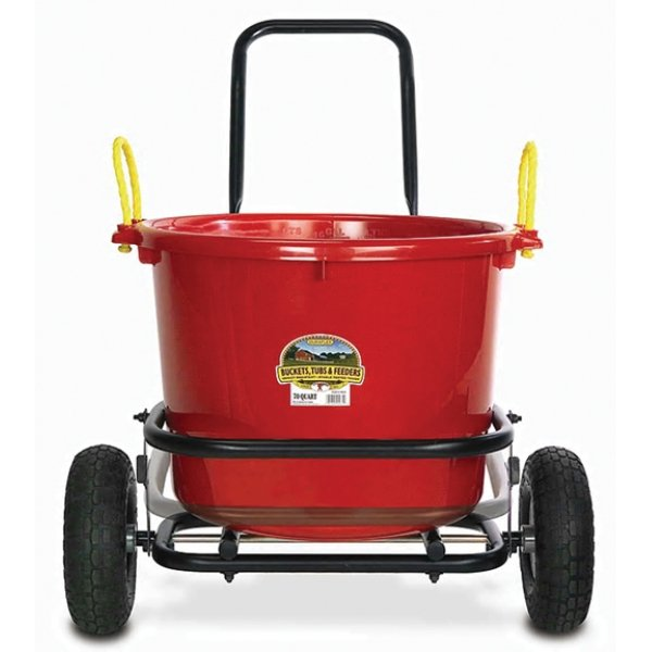 Muck Cart with Pneumatic Wheels for Barns and Gardens Best Price
