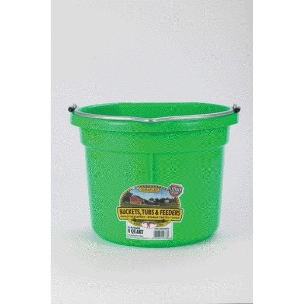 8 Qt. Little Giant Flatback Bucket / Color (Lime) Best Price