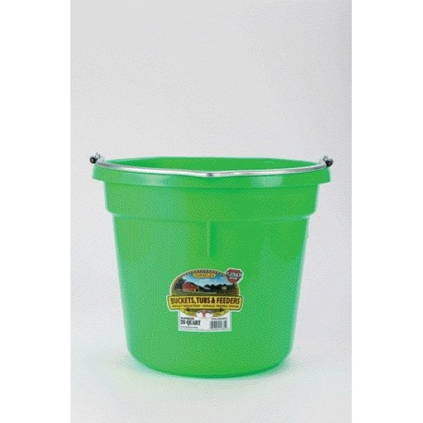 20 Quart Flatback Bucket / Color (Lime) Best Price