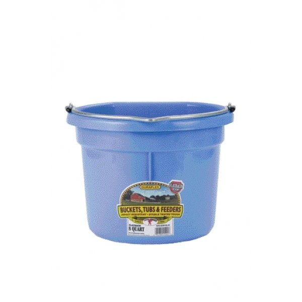 8 Qt. Little Giant Flatback Bucket / Color (Berry) Best Price