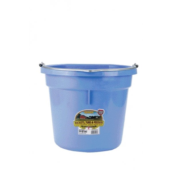 20 Quart Flatback Bucket / Color (Light Blue) Best Price