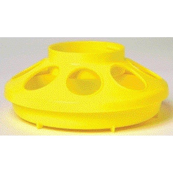 Plastic Poultry Feeder Base / Color (Yellow) Best Price