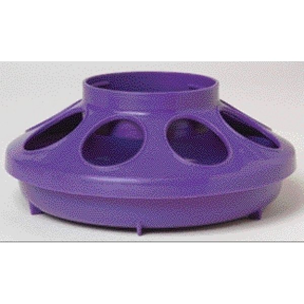 Plastic Poultry Feeder Base / Color (Purple) Best Price