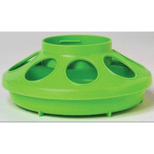 Plastic Poultry Feeder Base / Color (Green) Best Price
