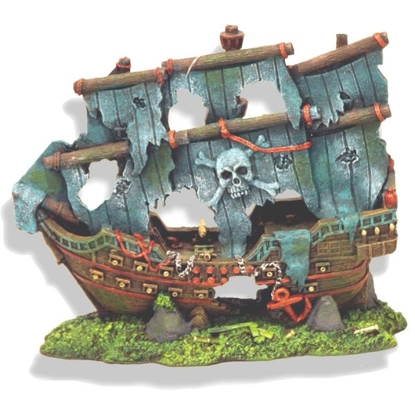 Pirate Ghost Ship for Aquariums - Medium Best Price