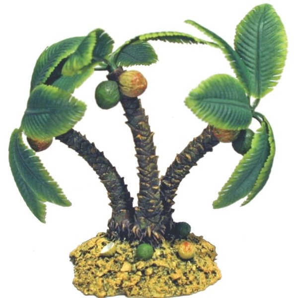 Palm Tree Island Aquarium Ornament / Size (Small) Best Price