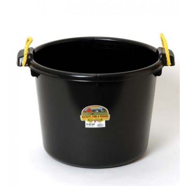 70 Quart Muck Tub for Barns and Gardens / Color (Black) Best Price