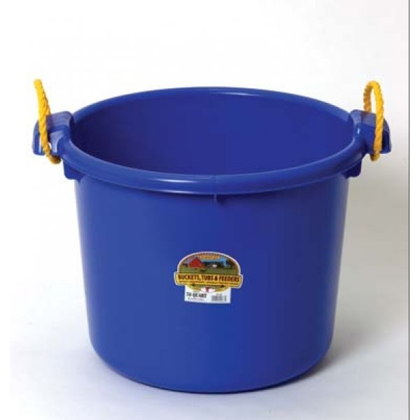 70 Quart Muck Tub for Barns and Gardens / Color (Blue) Best Price