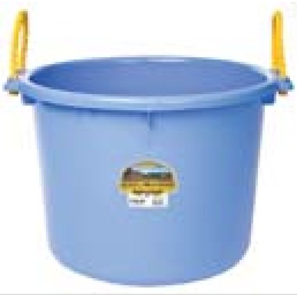 70 Quart Muck Tub for Barns and Gardens / Color (Blueberry)