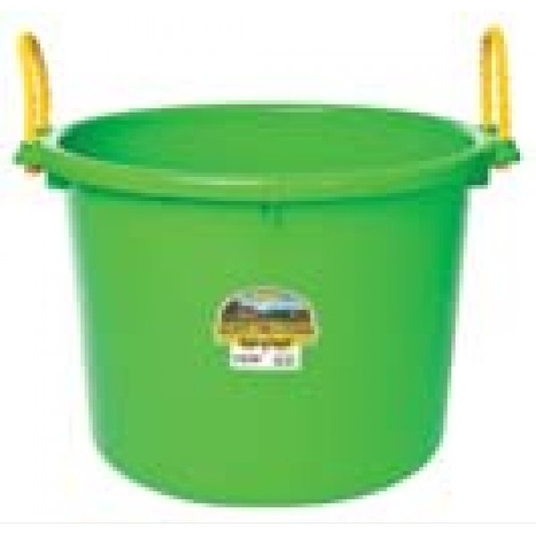 70 Quart Muck Tub for Barns and Gardens / Color (Lime Green)
