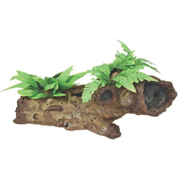 Mopani Wood with Silk Plants - Large Best Price