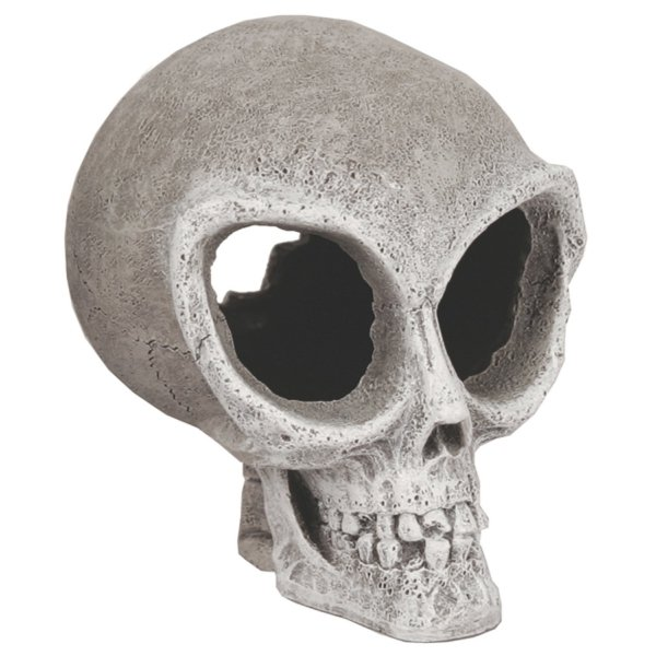 Alien Skull Aquarium Ornament - Small Best Price