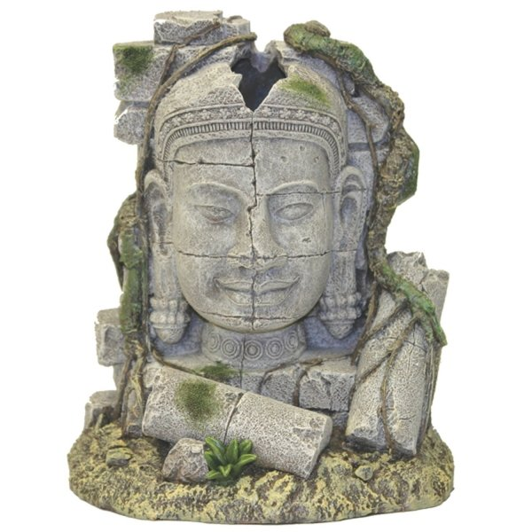 Ancient Stone Head Ruin Aquarium Decoration Best Price