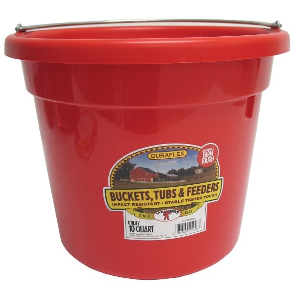 10 Quart Utility Bucket / Color (Red)