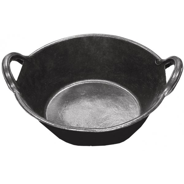Rubber Pan With Handles - 3 gal. Best Price