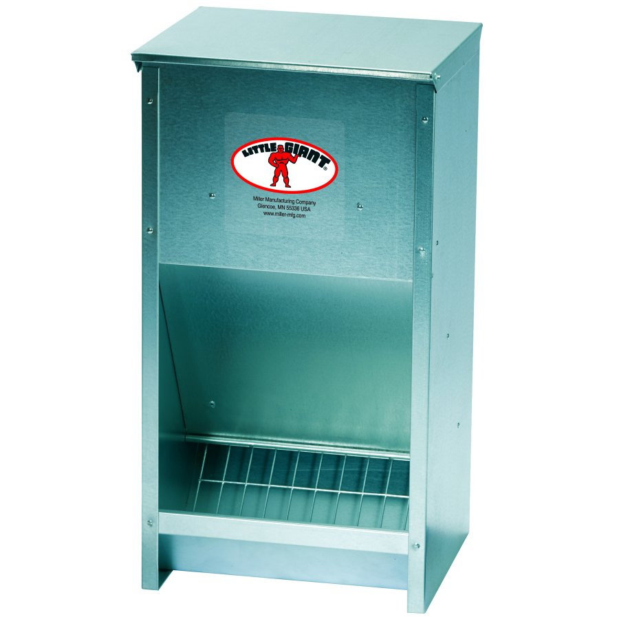 Poultry Feeder Galvanized High Capacity Gregrobert