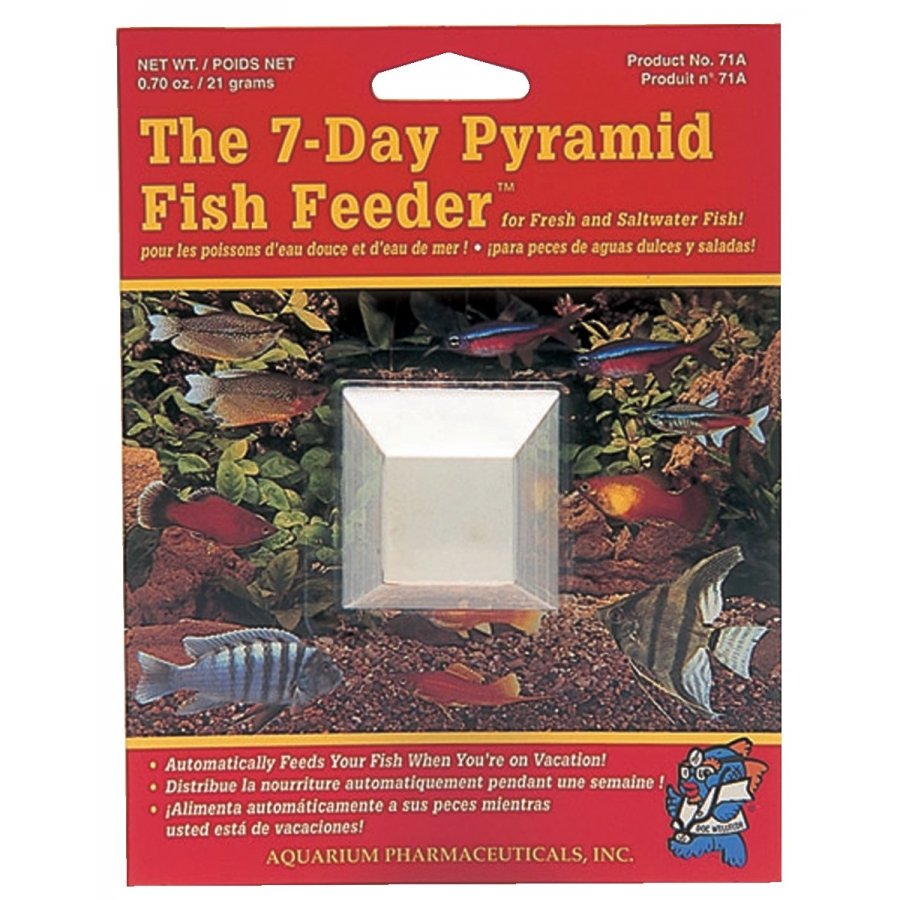 7 Day Fish Feeder Pyramid 1 Pk.