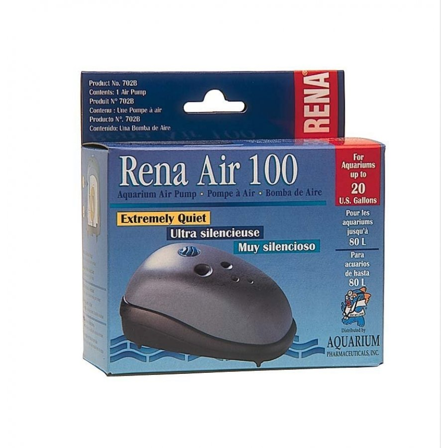 Rena Air 100 Air Pump For Aquariums 20 Gallon