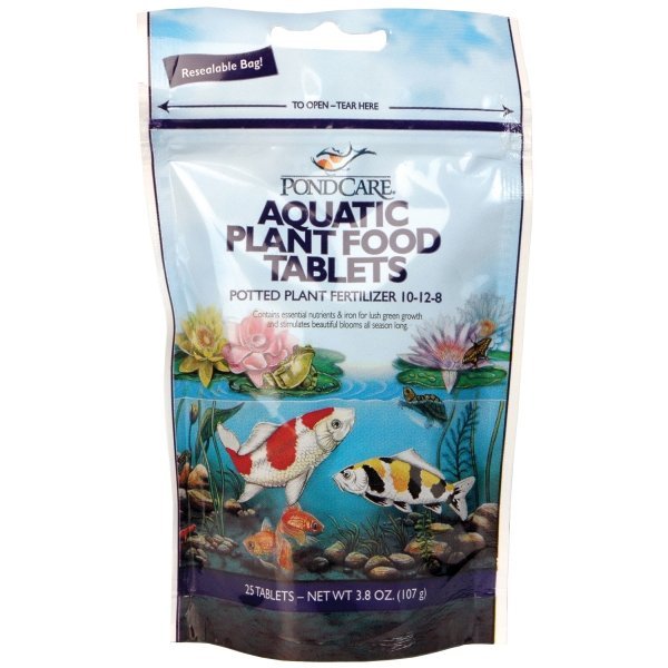 Pondcare Aquatic Plant Food Tablets / Size 25 Tablets