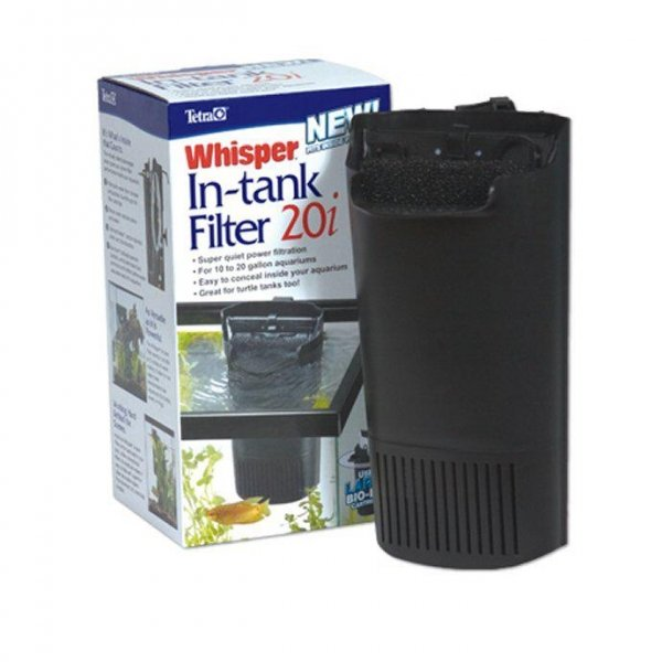 Whisper In Tank Filters For Aquariums / Type 20i