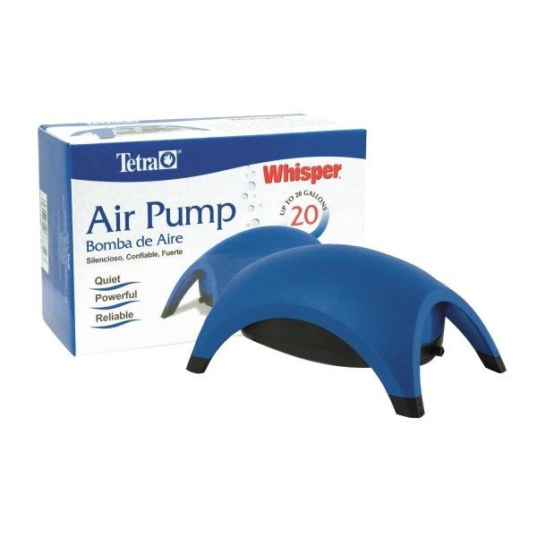 Whisper Aquarium Air Pumps / Model 20