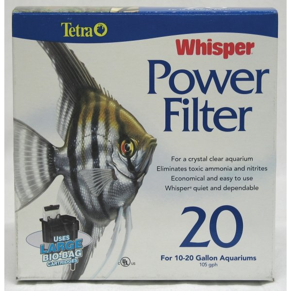 Whisper Power Aquarium Filter / Model (20) Best Price
