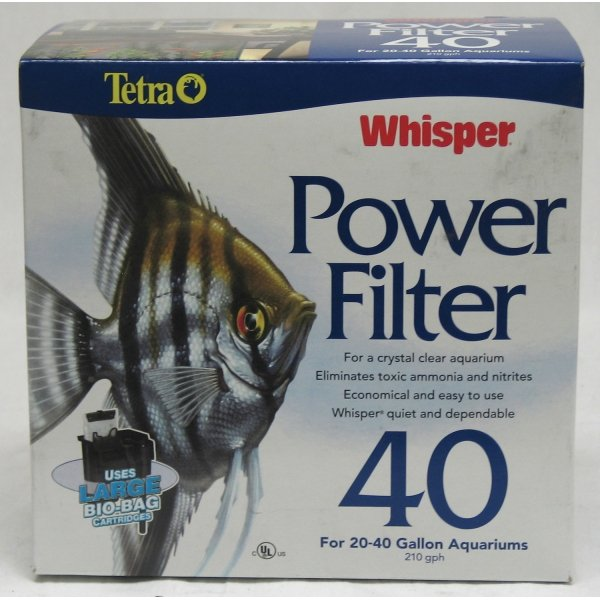 Whisper Power Aquarium Filter / Model (40) Best Price