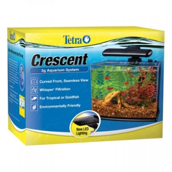 Tetra Crescent Aquarium Kit 3 Gallon