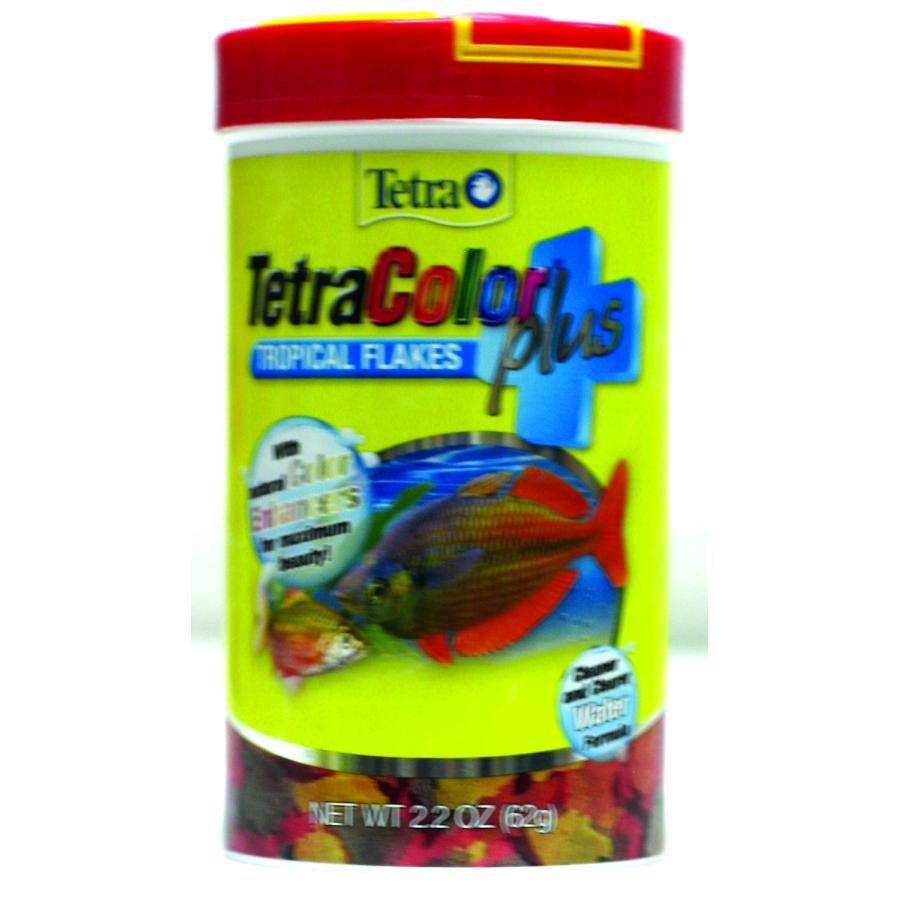 Tetracolor Plus Tropical Flakes / Size 2.2 Oz